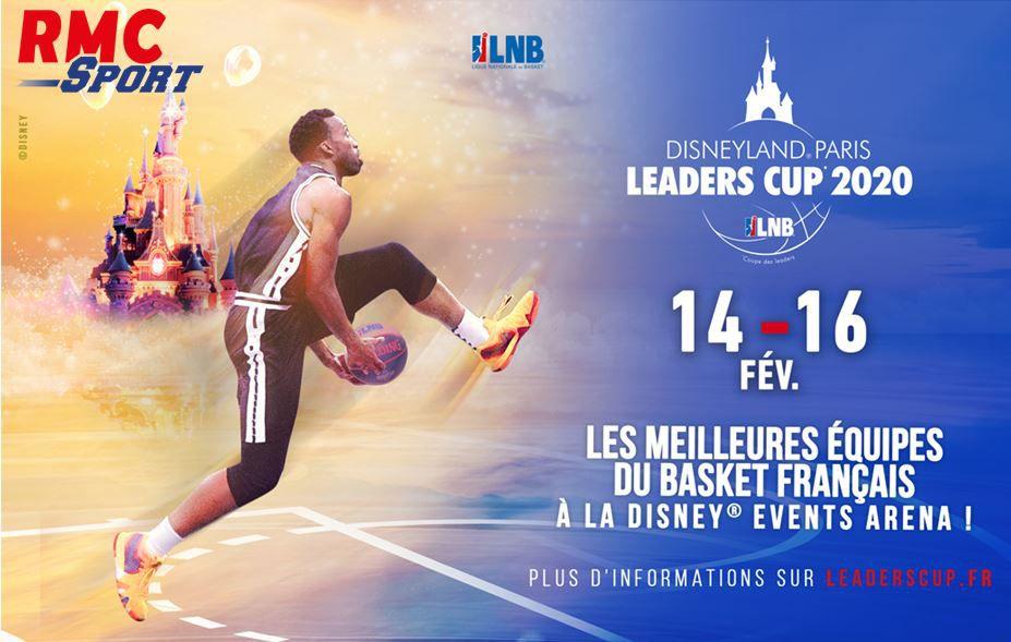 [Basket] La Disneyland Paris Leaders Cup ce week-end sur RMC Sport 2 !