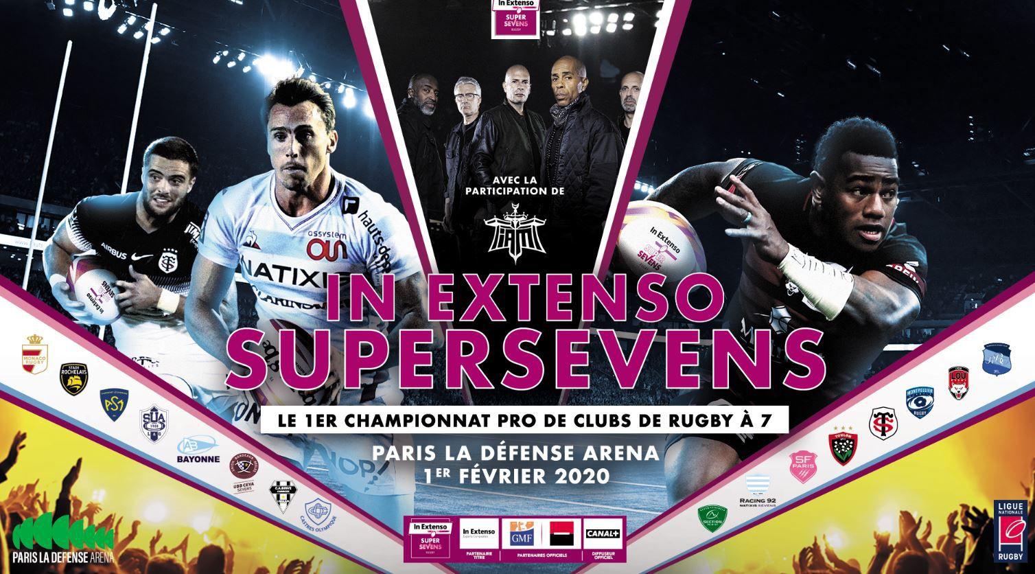 [Rugby VII] IN EXTENSO  SUPERSEVENS à suivre ce samedi sur les antennes de Canal Plus !