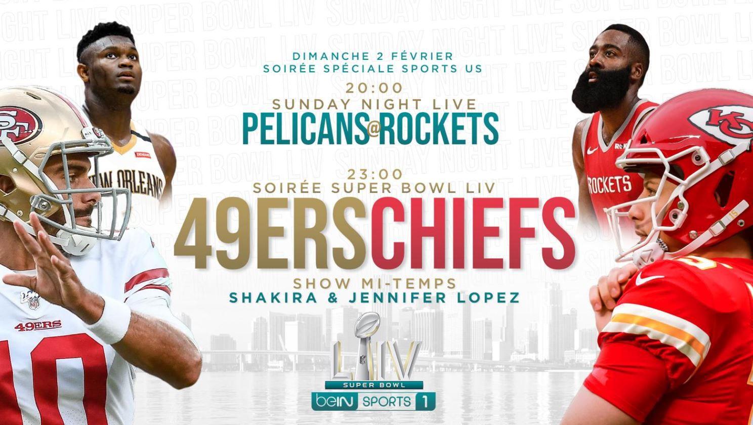 [NBA] New Orleans Pelicans @ Houston Rockets ce dimanche sur beIN SPORTS 1 !