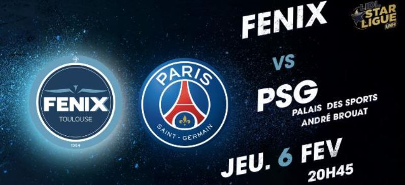 [Hand] Toulouse / Paris SG (Lidl Starligue) ce jeudi sur beIN SPORTS 1 !