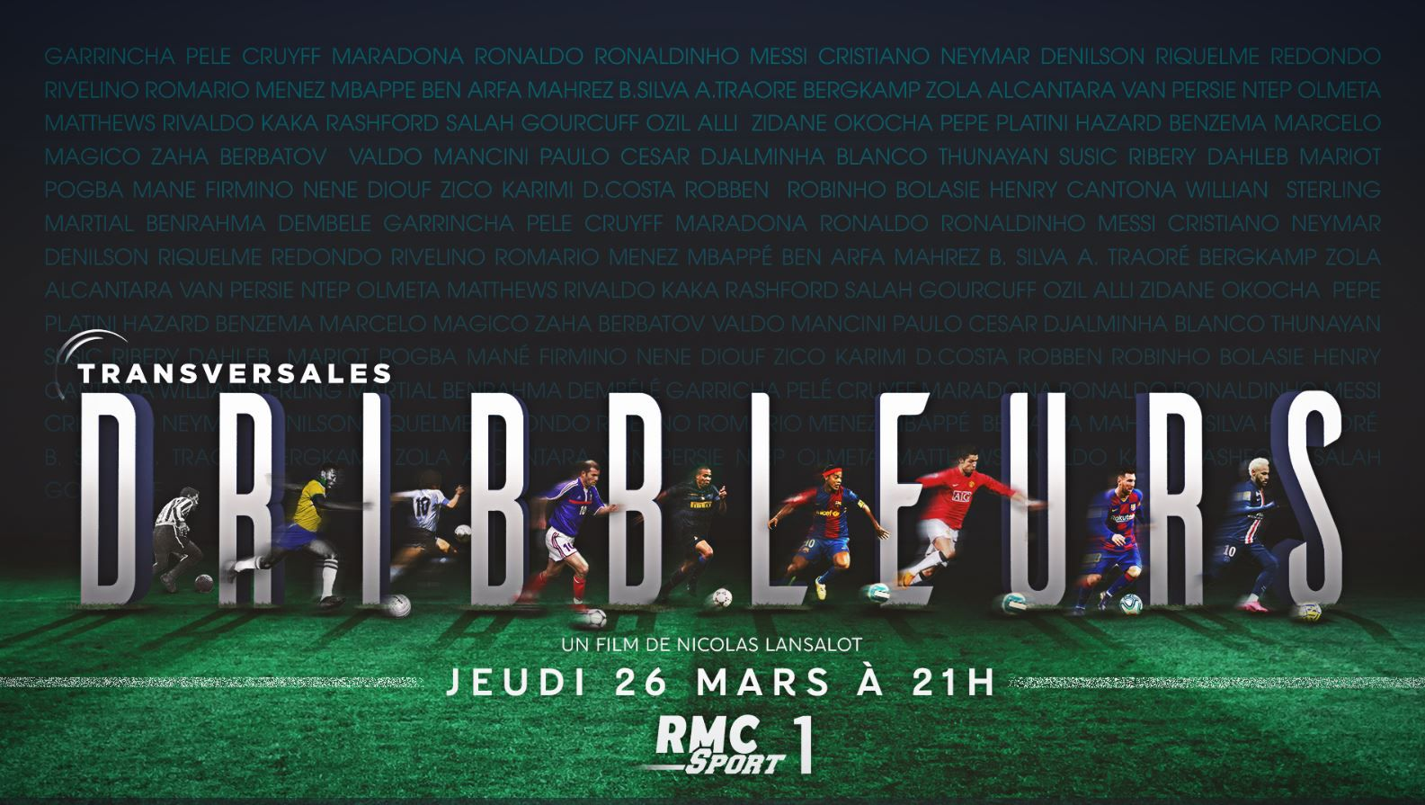"[Foot] ""Dribbleurs"" le Film exceptionnel de « Transversales »  disponible en Replay !"