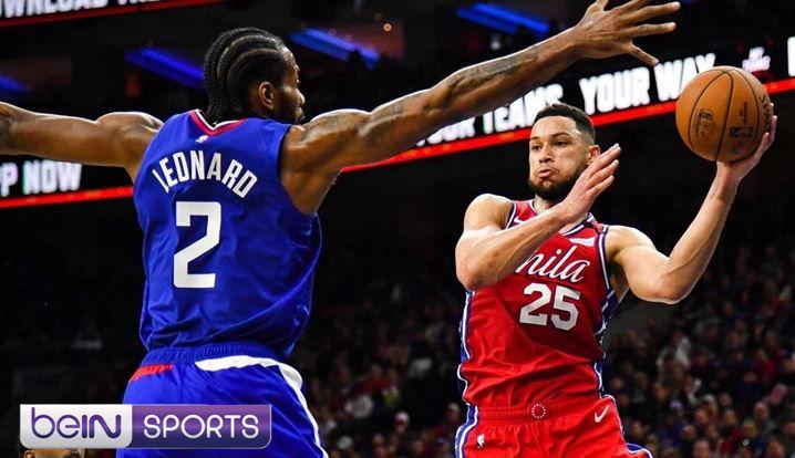 [NBA] Philadelphia 76ers @ Los Angeles Clippers ce dimanche sur beIN SPORTS 3 !