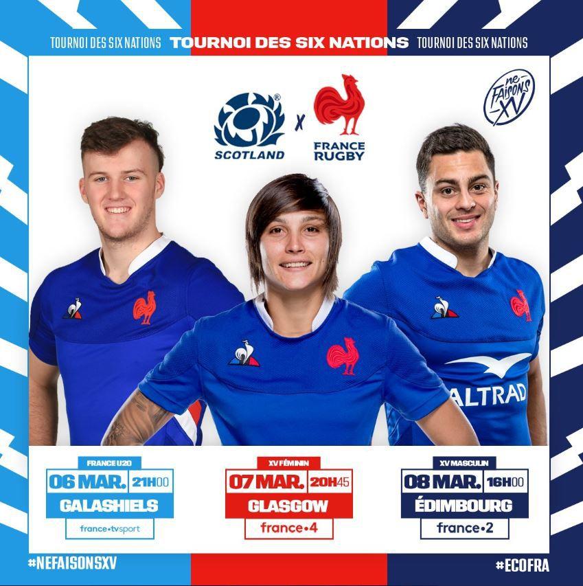 [Rugby] Ecosse / France (Tournoi des 6 nations) ce dimanche sur France 2 !