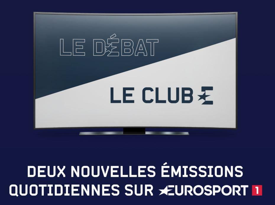 [Infos TV] Eurosport lance deux nouvelles émissions quotidiennes !