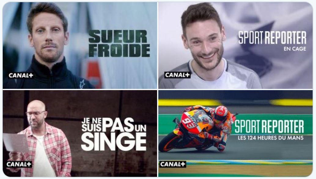[Infos TV] 5 documentaires et une course Moto virtuelle ce dimanche sur Canal Plus !