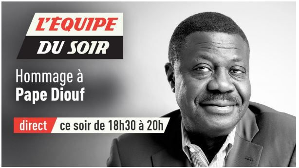 [Infos TV] L'Equipe du Soir rend hommage à Pape Diouf ce mercredi !