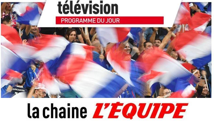 [Infos TV] Votre Journée TV du mardi 07 sur la Chaîne l'Equipe !