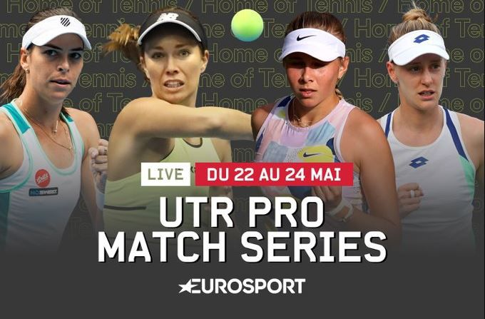 Le Tournoi de tennis féminin UTR Pro Match Series en direct sur Eurosport 1 !