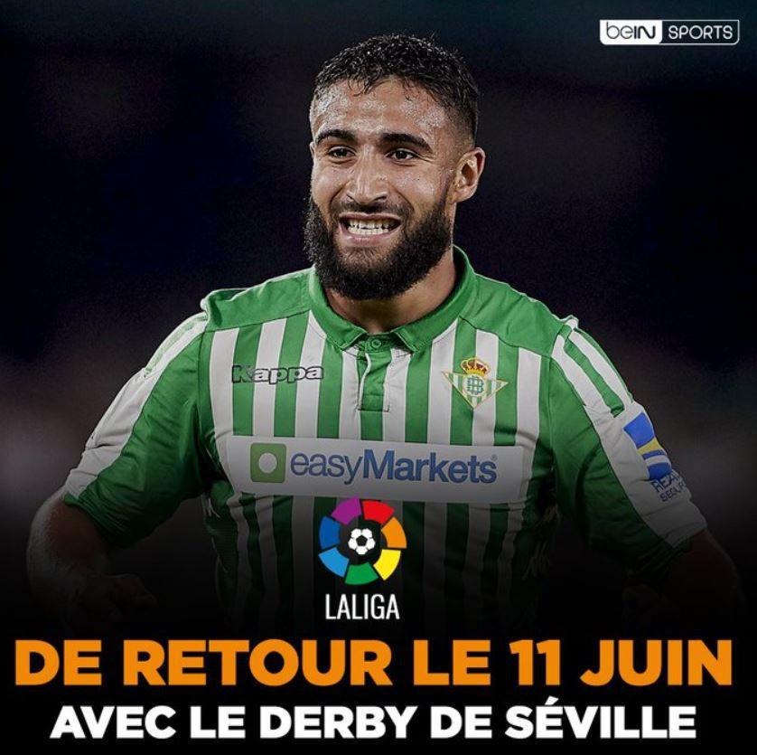 La Liga de retour le 11 juin en direct sur beIN SPORTS !
