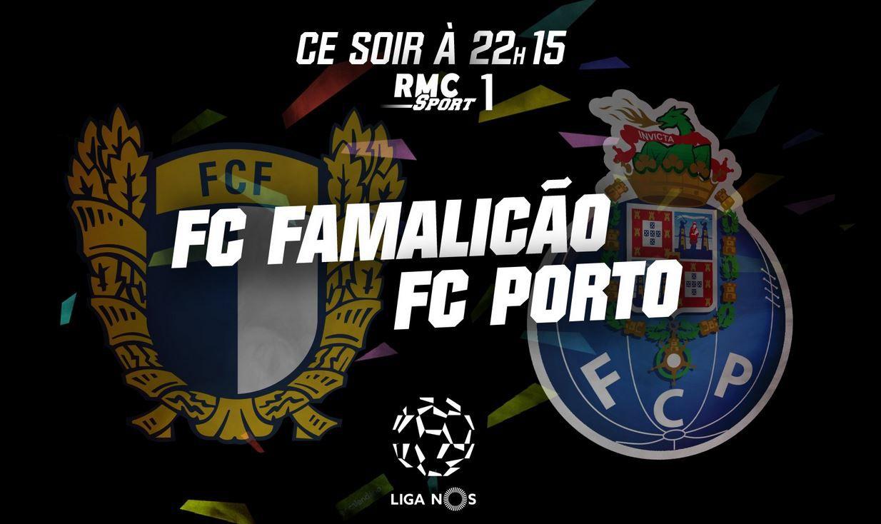 Famalicão / FC Porto (Liga NOS) en direct ce mercredi sur RMC Sport 1 !