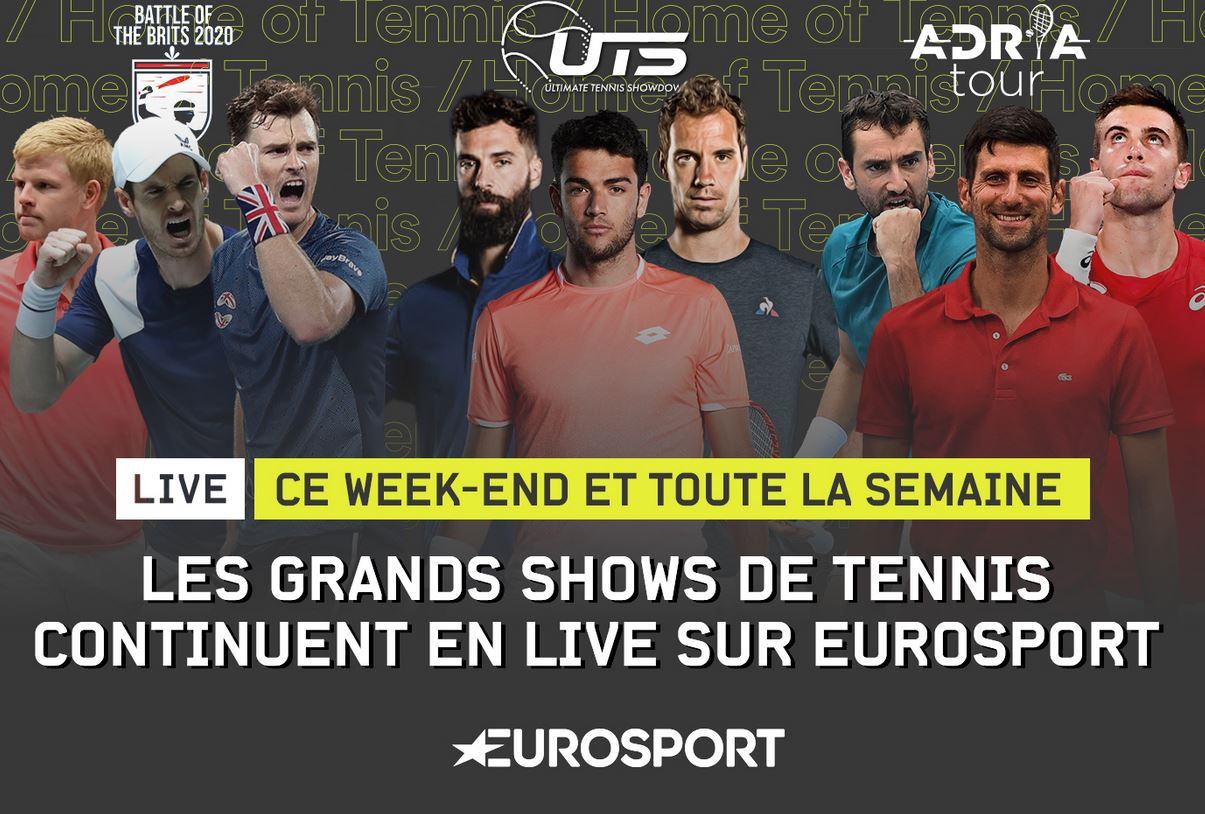 "Finales ce dimanche du ""Battle of Brits"" en direct Eurosport !"
