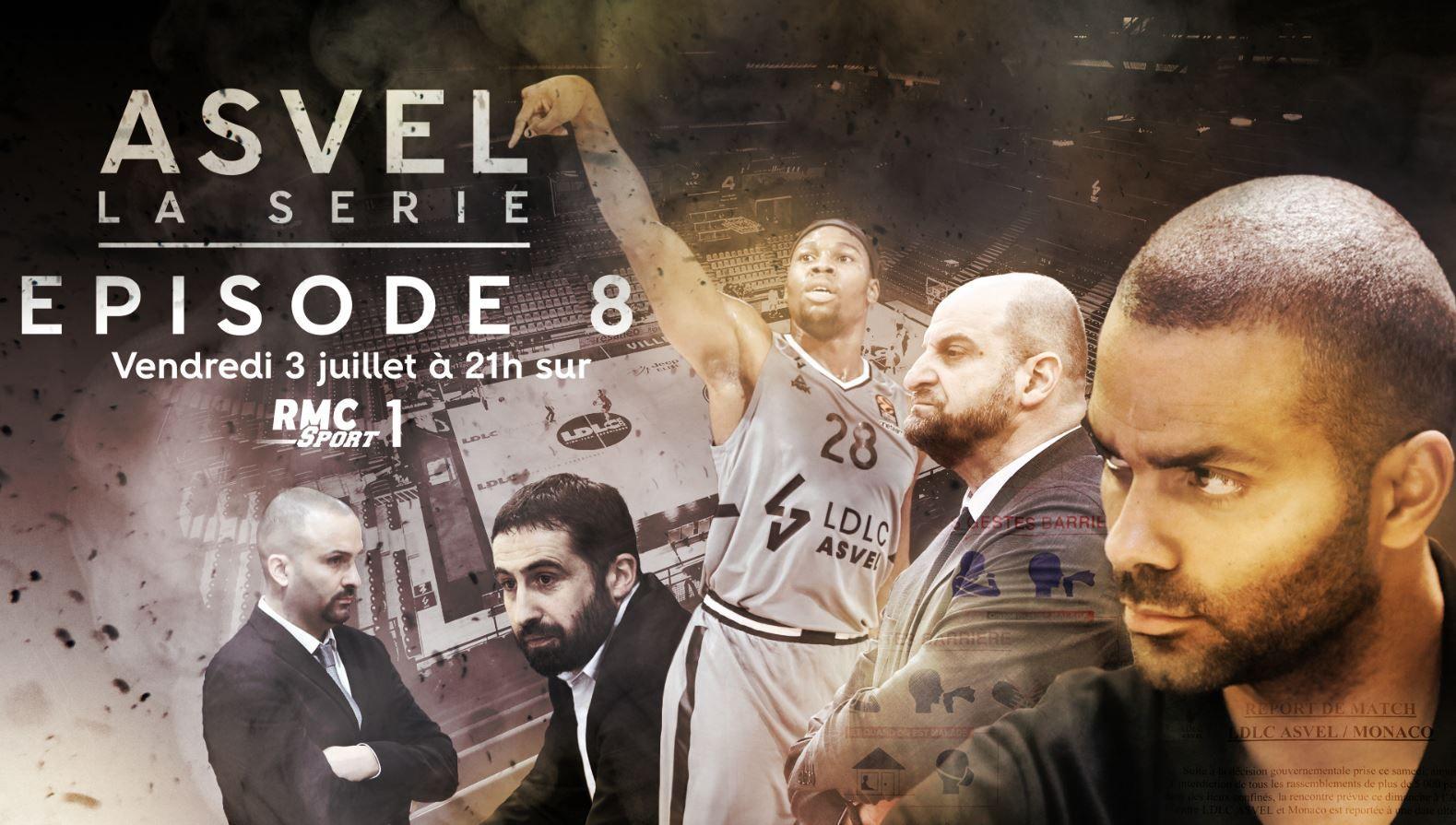 """Le dernier Episode de """"ASVEL La Série"""" ce vendredi sur RMC Sport !"""