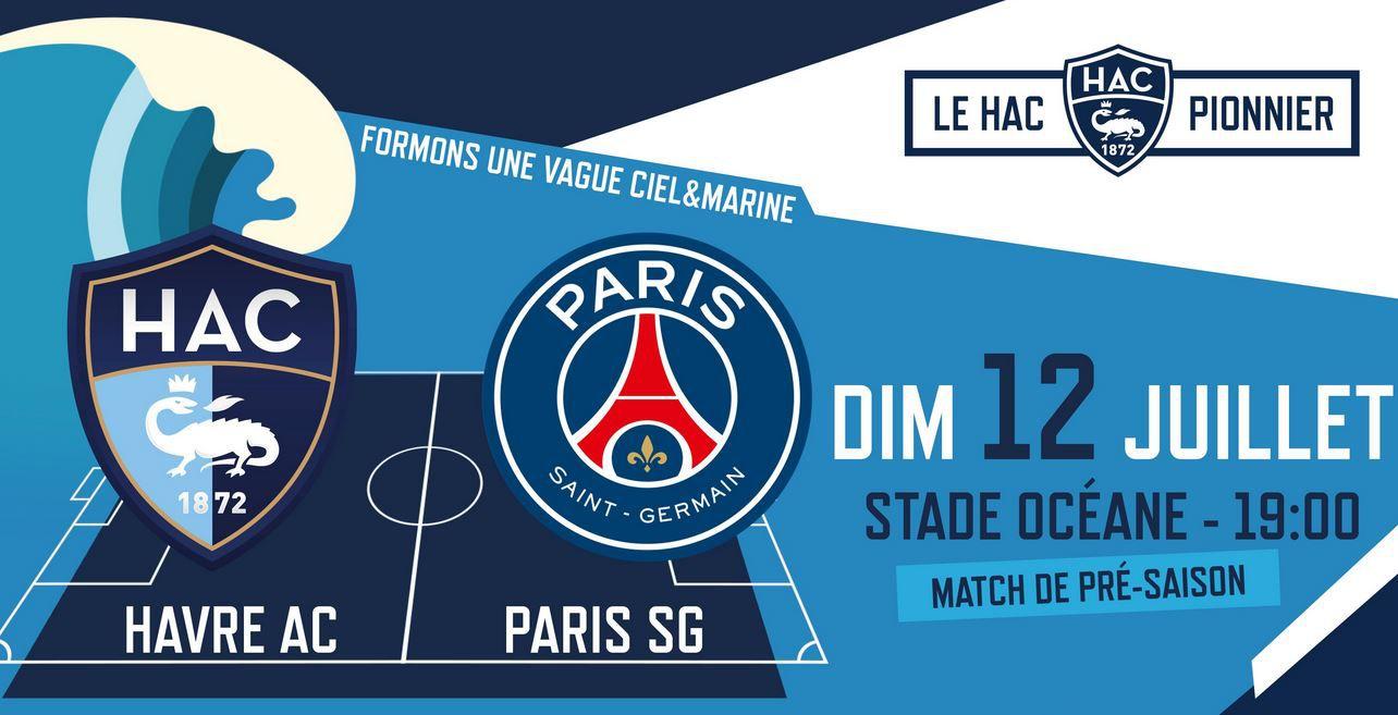 Le Havre / Paris SG (Amical) ce dimanche en direct sur beIN SPORTS !