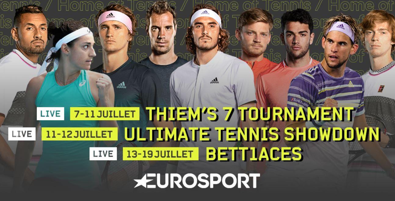 Le tournoi bett1ACES à suivre en direct cette semaine sur Eurosport !