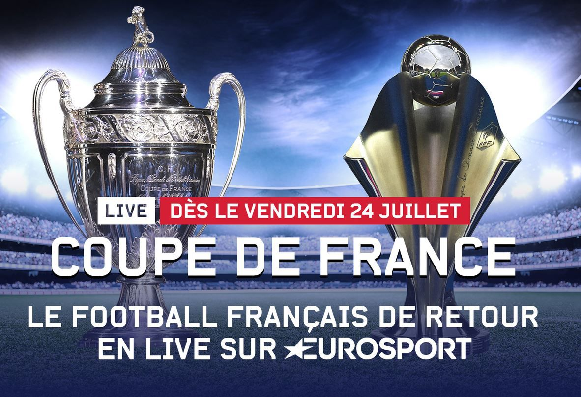 Le football français de retour en direct sur Eurosport !