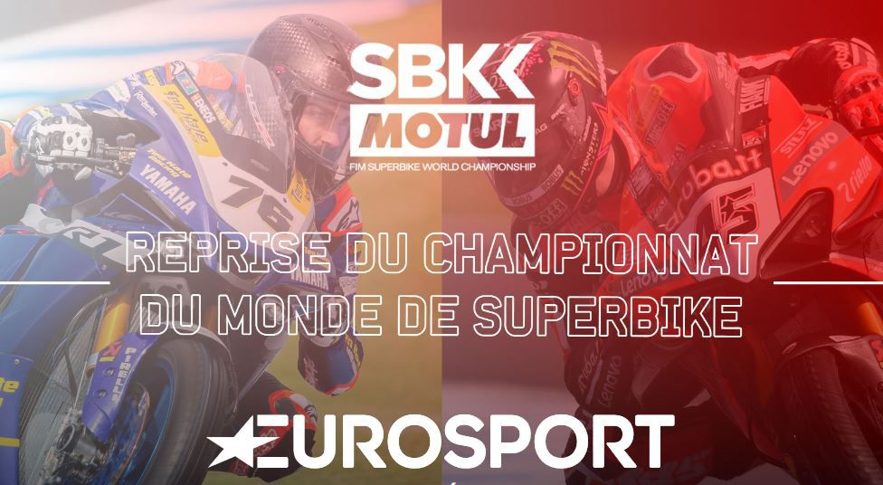 Reprise du championnat Superbike et Supersport en direct sur Eurosport !