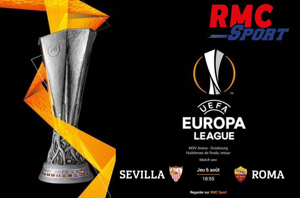 AS Roma / FC Seville (Europa League) en direct ce jeudi sur RMC Sport 1 !