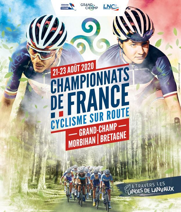Les Championnats de France de cyclisme sur route ce week-end sur France 3 et Eurosport !