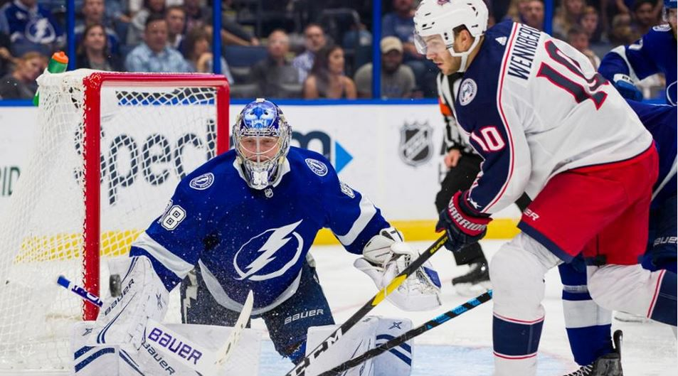 Columbus Blue Jackets @ Tampa Bay Lightning en direct ce jeudi sur Canal + Sport !