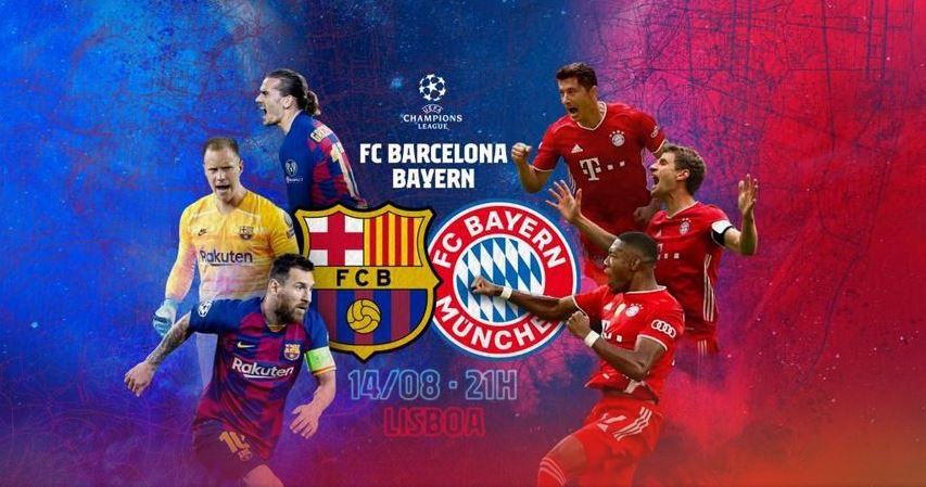 Barcelone / Bayern de Munich (1/4 Finale) en direct ce vendredi sur RMC Sport 1 !