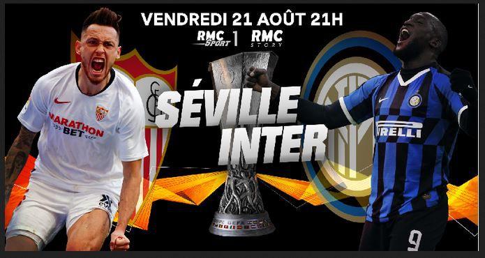 FC Seville / Inter de Milan (Finale Europa League) en direct ce vendredi sur RMC Story et RMC Sport 1 !