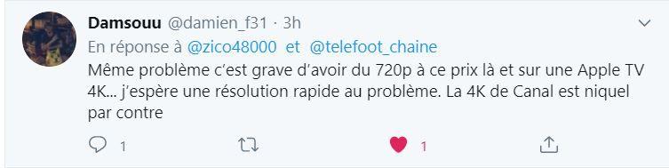La chaîne TeleFoot doit rapidement s'améliorer !