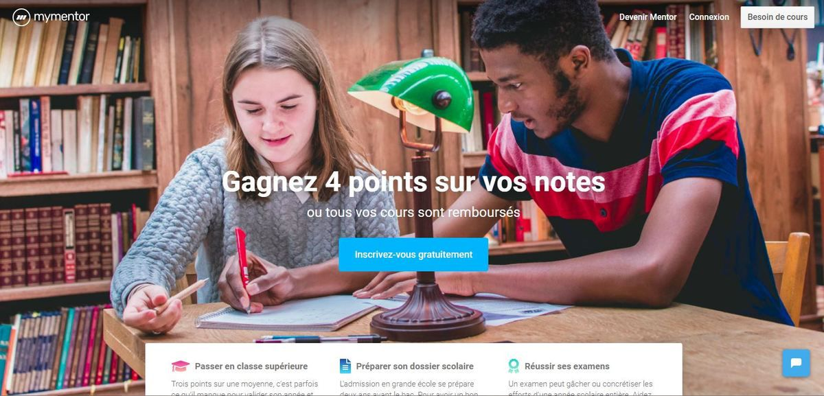 Site MyMentor-accueil