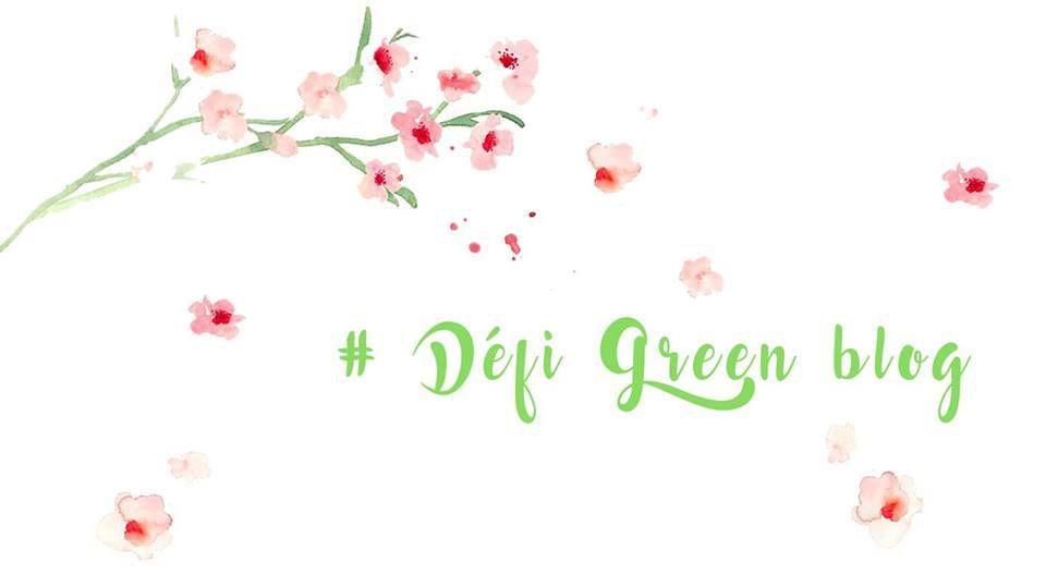 Le Défi Green Blog et moi…