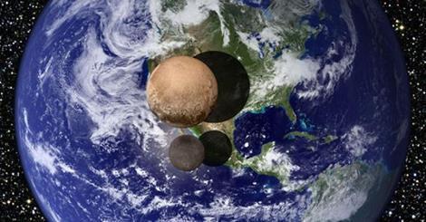 Pluton, comme on ne l'a jamais vue