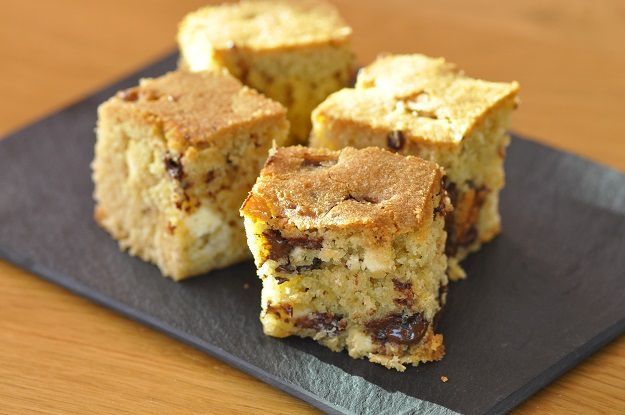 Blondies aux pépites de chocolat