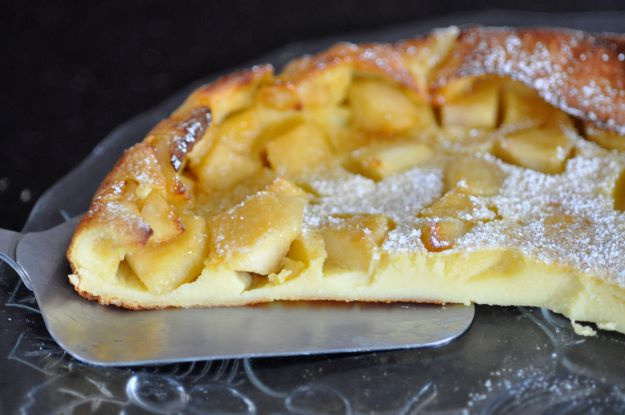 Dutch baby pancake aux pommes
