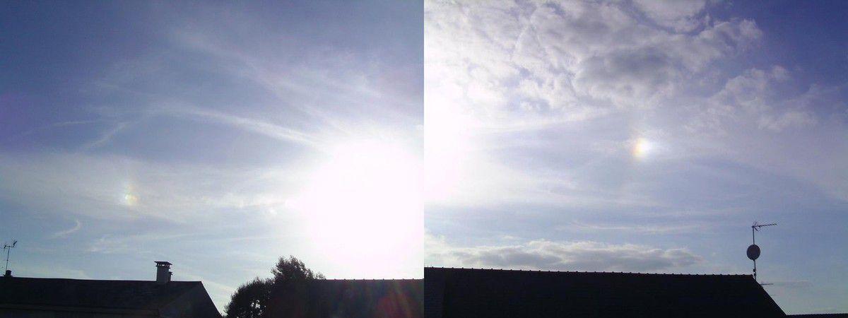 Parhélie ou Reflet de soleil