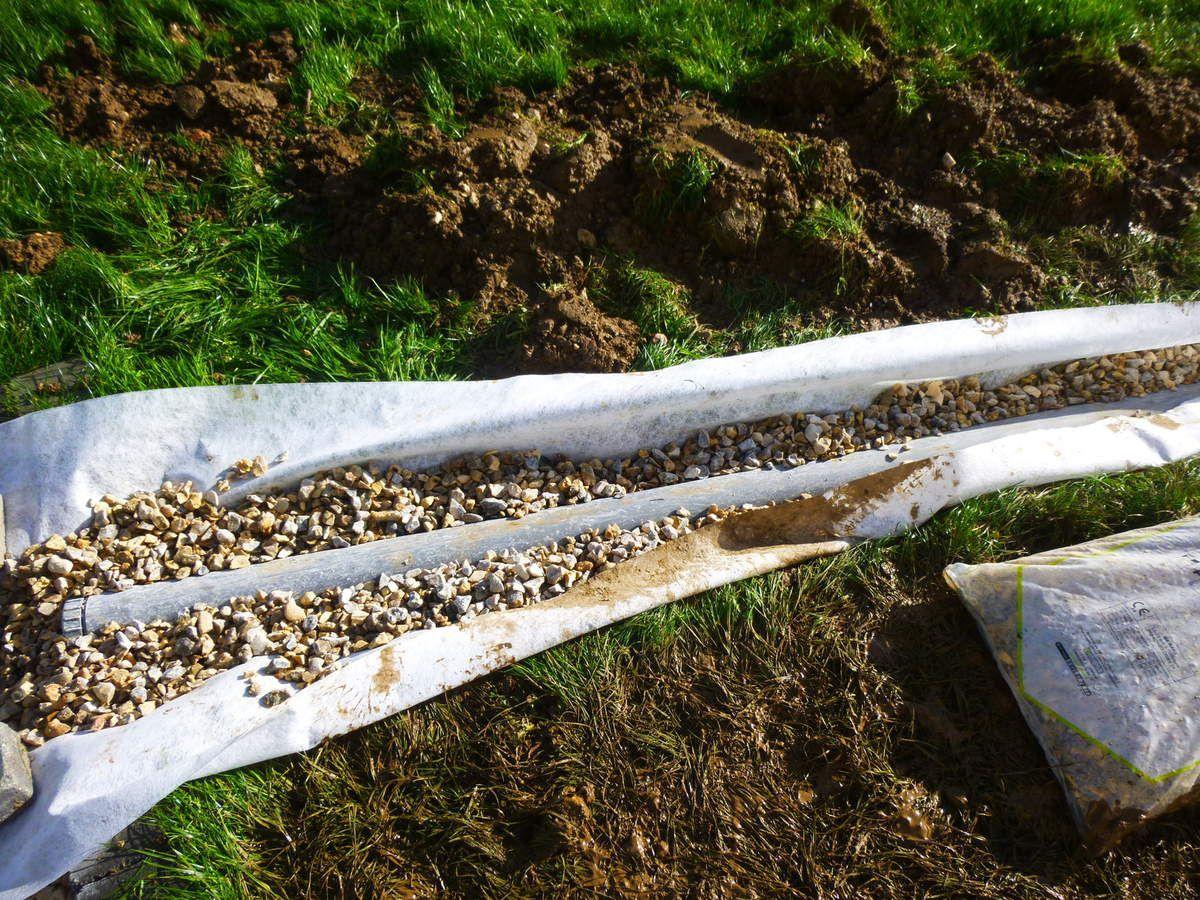 Jardin En Pente Comment Faire comment poser un drain dans son jardin avec une pente