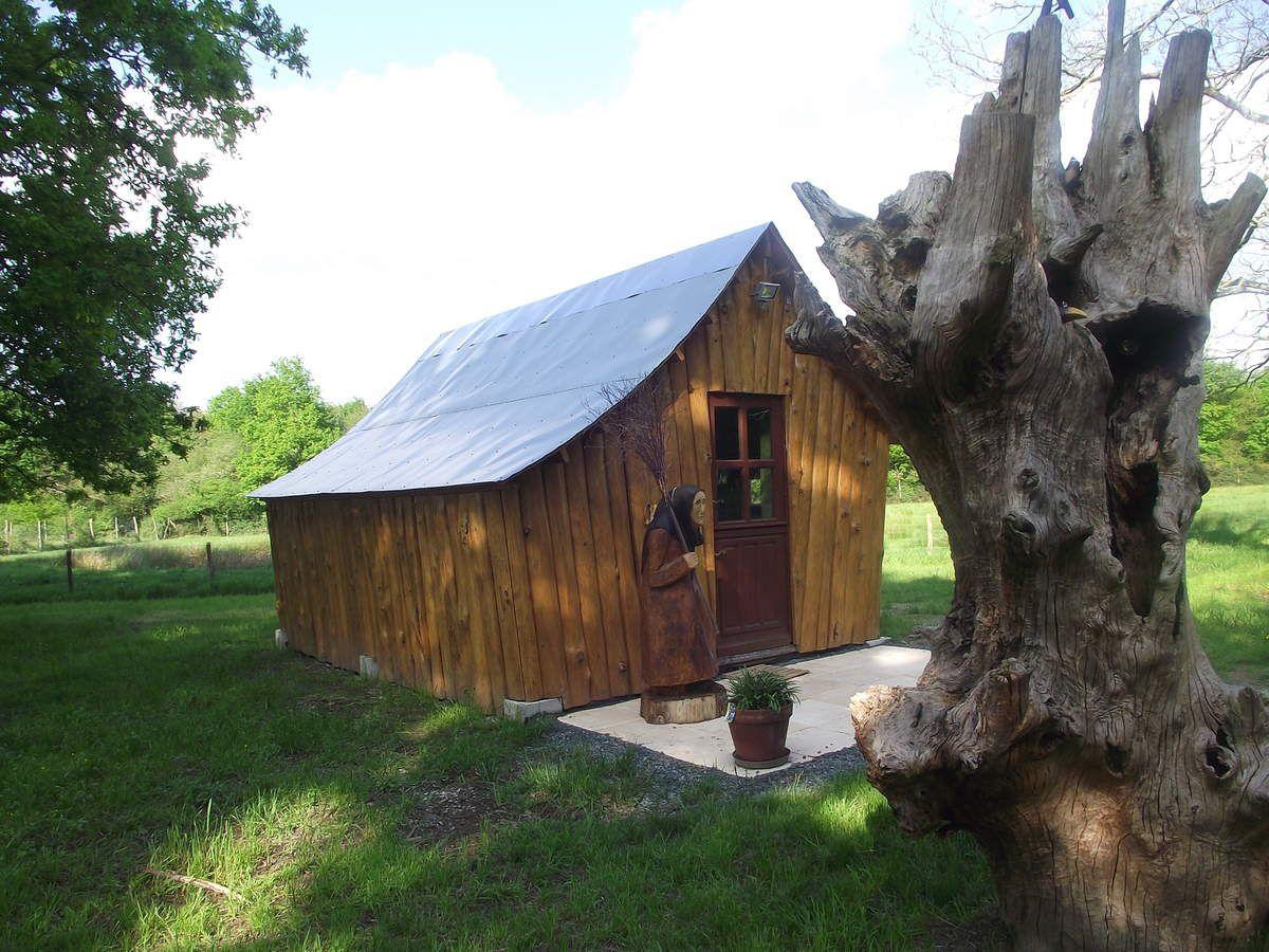 La cabane enchantée, la cabane des amoureux, la cabane du chêne