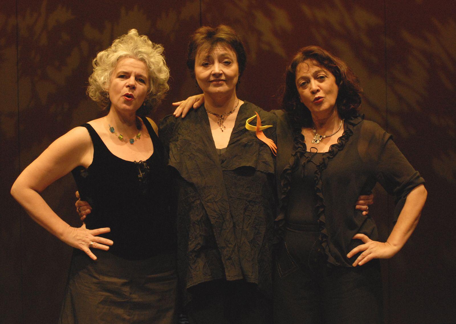 Trad-Arrgt    Marie-Pierre Villermaux - Evelyne Girardon - Barbara Trojani (Photo : Christian Ganet)