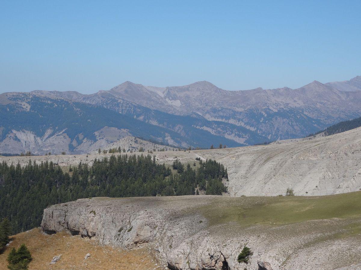 Transverdon 2ème étape : Lacs de Lignin - Thorame Basse (13/09/2014)