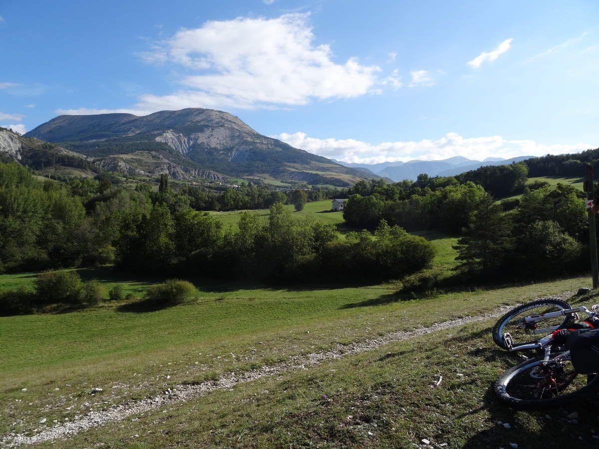 Transverdon 3ème étape :Thorame Basse- St André les Alpes (14/09/2014)