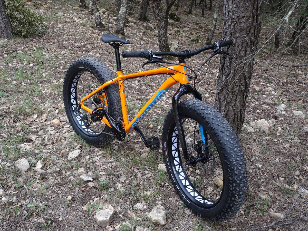 "Test fat bike ""Fat boy Specialized""."