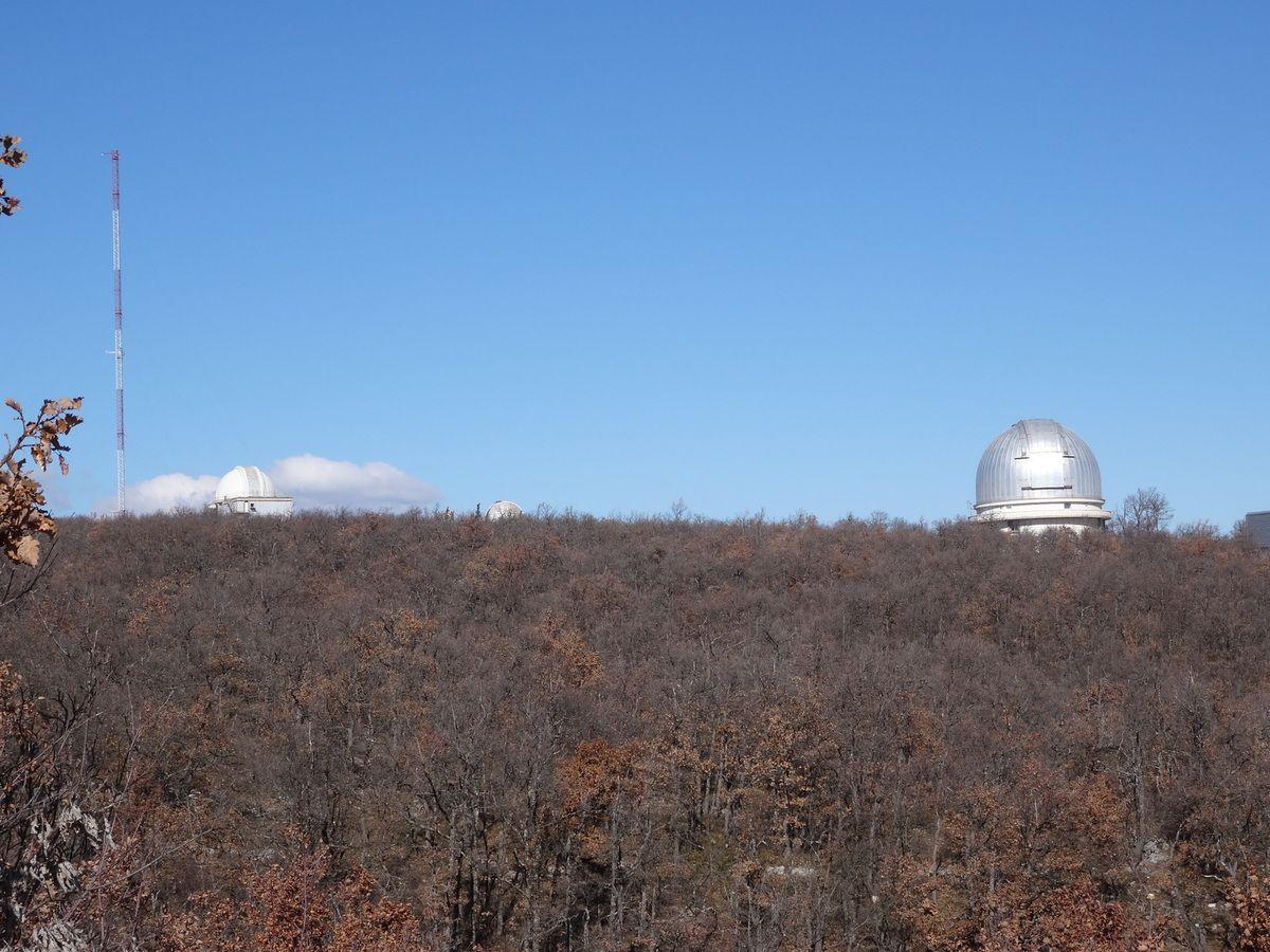 Plateau de St Michel l'Observatoire au départ de Forcalquier (06 mars 2016)