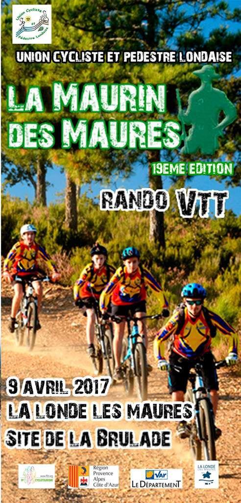 La  19ème Edition de La Maurin des Maures le 9 avril 2017