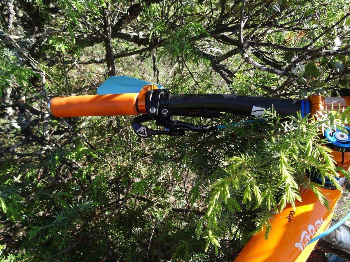 Tige de selle telescopique RAW,  ICE V8 DELUXE 90 mm- test/essai -TUTO entretien réparation.