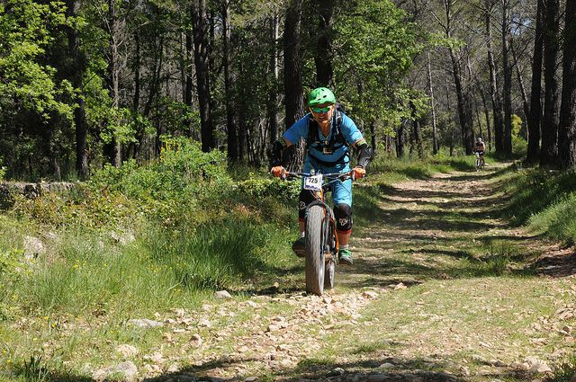 Dream team VTT-a-2 au 100 KM du LACHENS MER 2016.