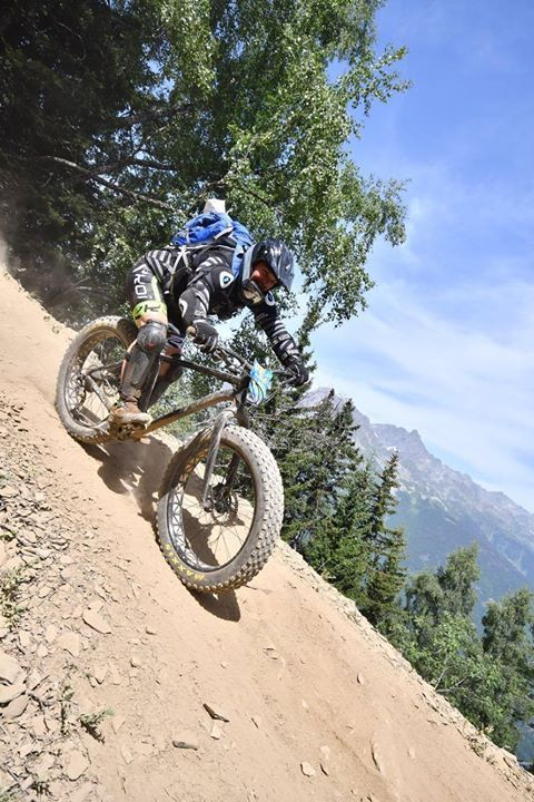 Qualification megavalanche 2017 en FAT BIKE.