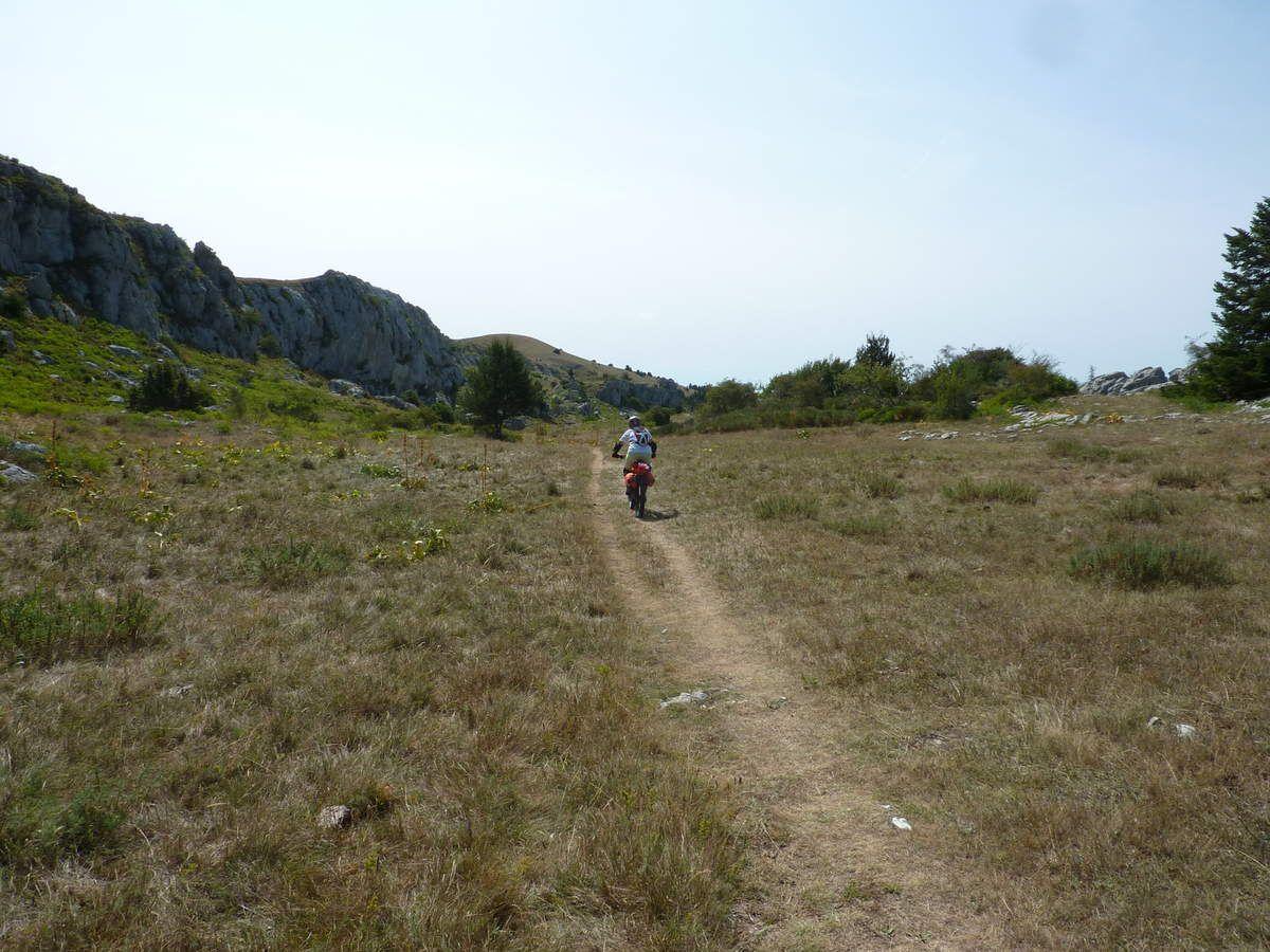 Variation du tour de Pays des Vallées du Gapençais en Bivouac : 1ère étape ( départ de Veynes -05) le 19/08/2017