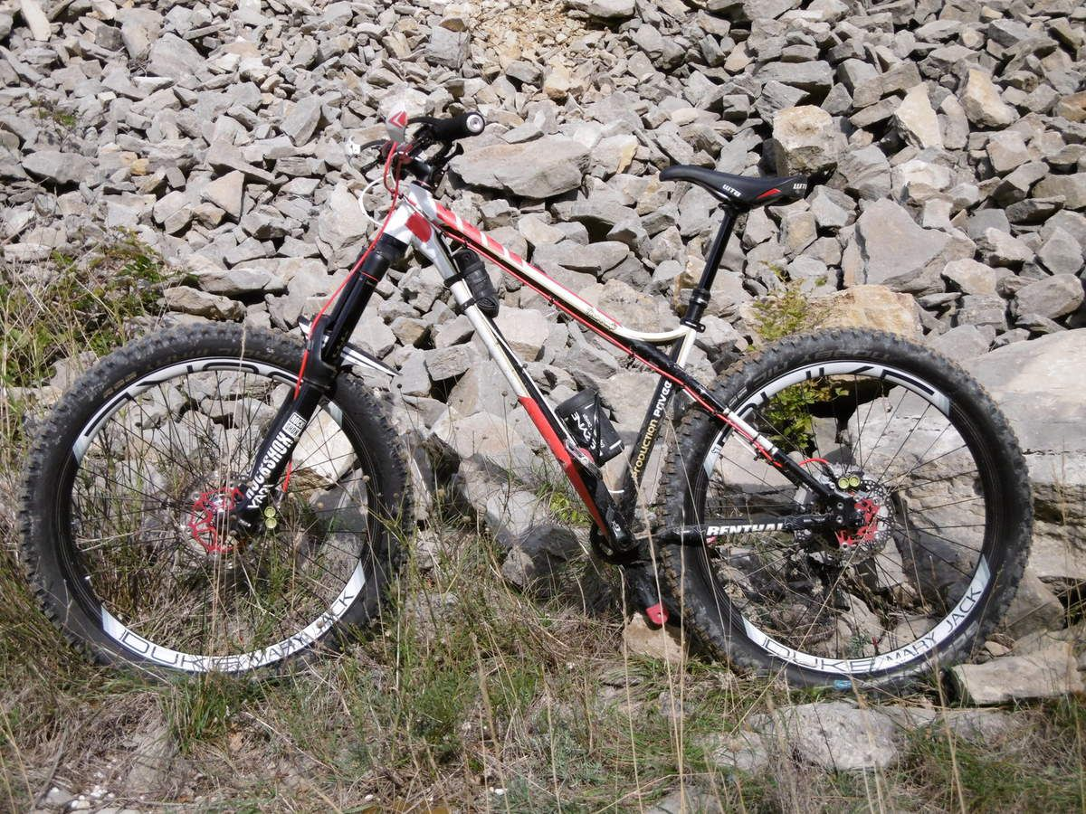 Test jante DUKE MARY JACK 27.5+ de JP RACING BIKE 1 .