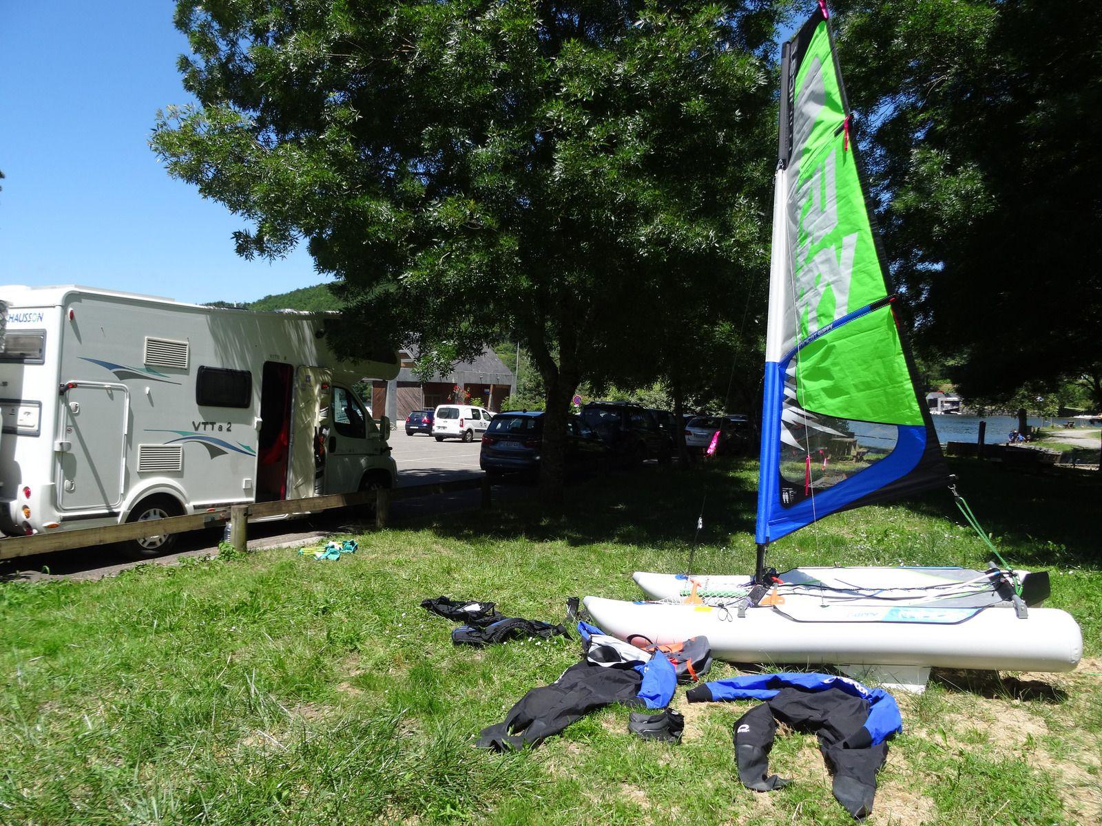 Parcours bucolique FFC n°3 noir au départ de la Salvetat-sur-Agout (34) le 21 juin 2020