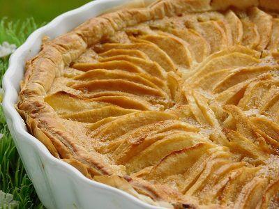 Tarte Aux Pommes Et Sa Creme D Amande Thermomix Blog Cuisine