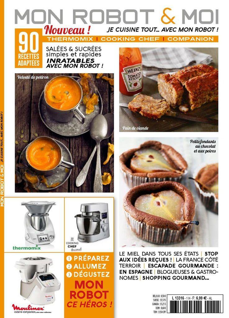 Nouveau magazine mon robot et moi blog cuisine thermomix avec recettes pour le tm5 tm31 - Nouveau livre thermomix 2017 ...