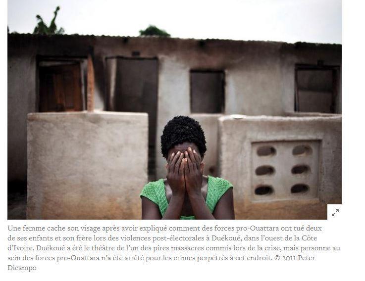 ONG Côte d'Ivoire Gri-Gri International HRW Simone Gbagbo Ouattara