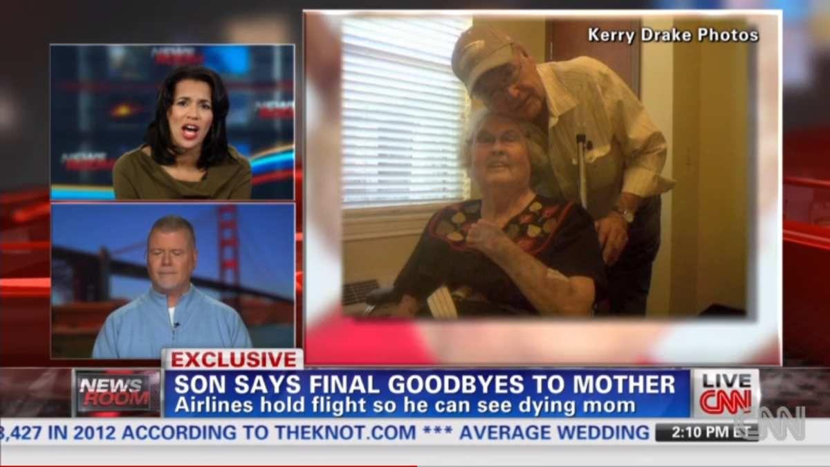 Histoire inspirante : Il a pu dire au revoir à sa mère mourante